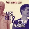 STEFAN PASBORG receives the prestigious ''Gudman Prisen 2017'' together with legend ALEX RIEL
